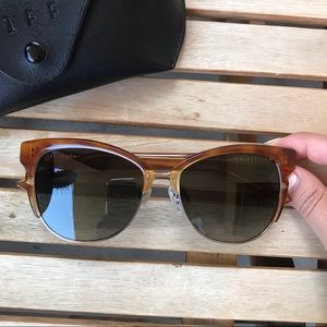 DIFF EYEWEAR | Ivy Tortoise Polarized Sunglasses